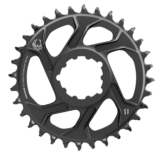 SRAM Kettenblatt Direct Mount X-SYNC 2 Eagle Direktmontage 12-fach 6mm Offset schwarz