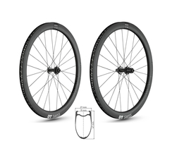 DT SWISS ERC 1100 DICUT db 47 ROAD Disc Carbon...