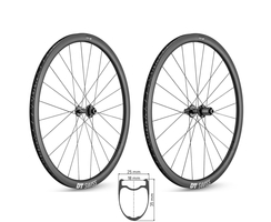 DT SWISS PRC 1100 DICUT db 35 ROAD Disc Carbon Clincher...